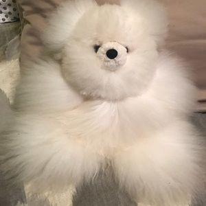 Other - Alpaca 15 inch teddy bear from Ecuador-NEW!